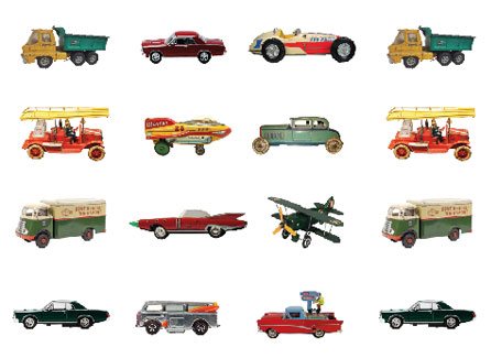Tin Toys Wallpaper