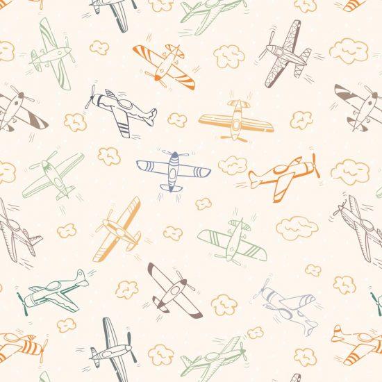 Vliegtuigen overal